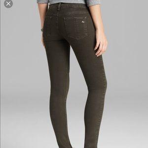 rag & bone / Jeans Dark Olive size 25 Stretch